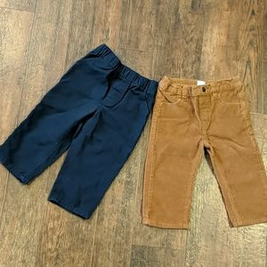 (lot of 2) 18 month pants